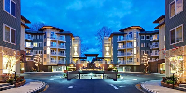 Wood Solutions Contractor Project - Harrington Square Apartments, Renton, WA